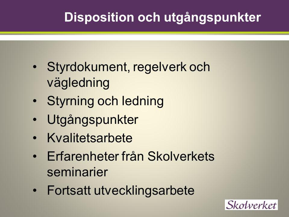 Var hittar jag BRUK? http://www.skolverket.se/skolut veckling/kvalitetsarbete/bruk