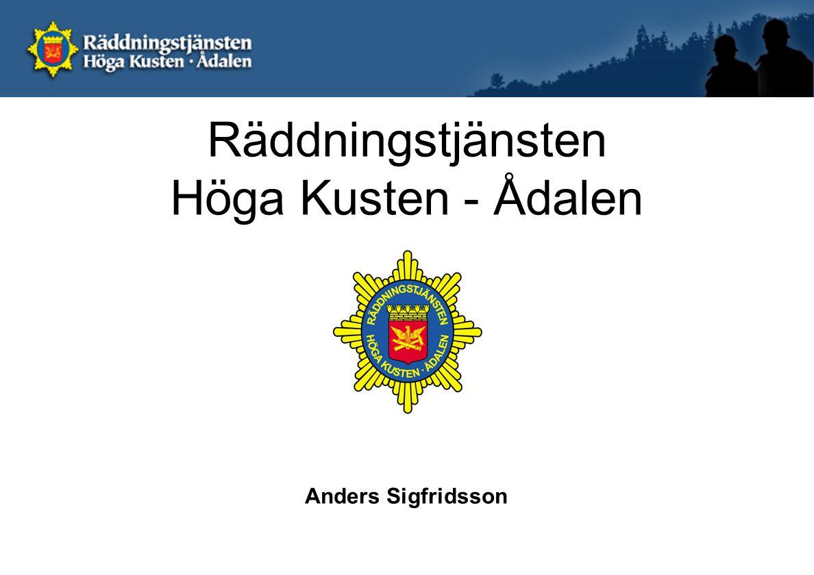 Räddningstjänsten Höga Kusten - Ådalen Anders Sigfridsson