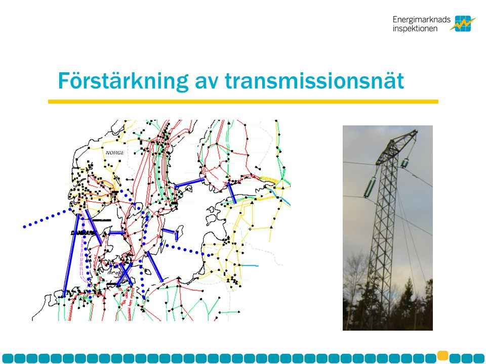 Förstärkning av transmissionsnät