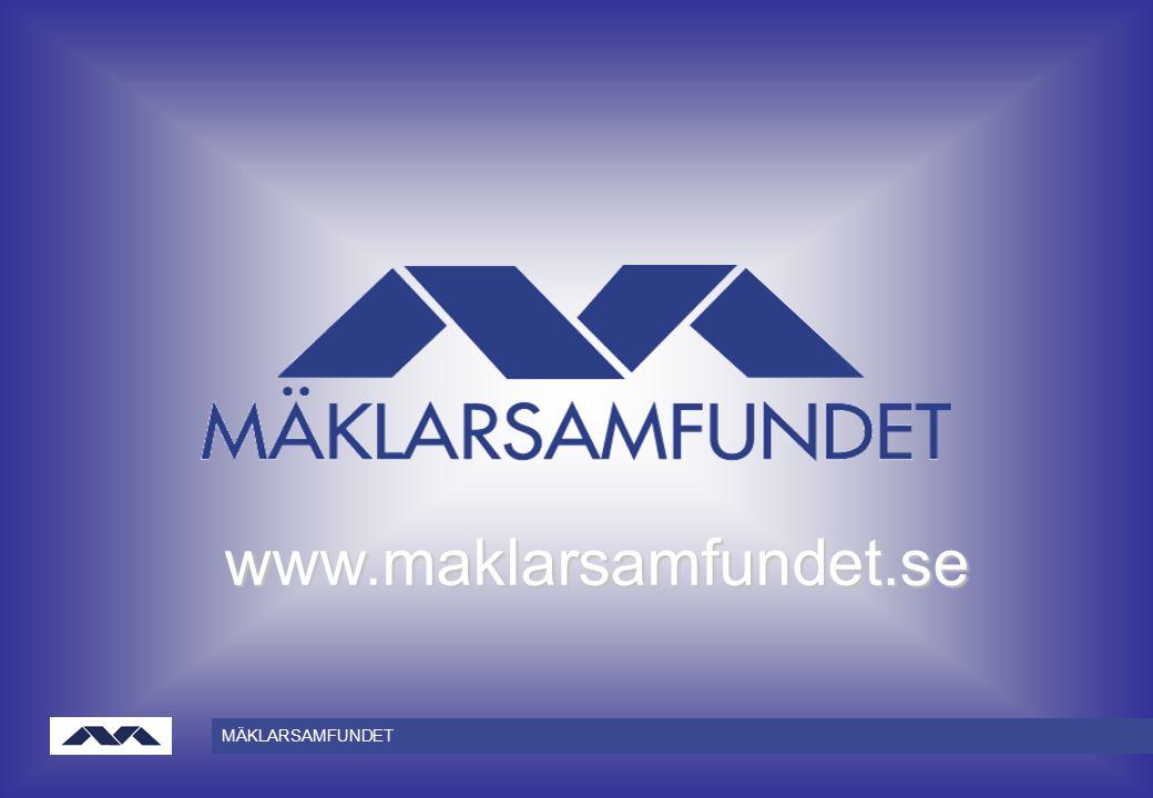 MÄKLARSAMFUNDET www.maklarsamfundet.se