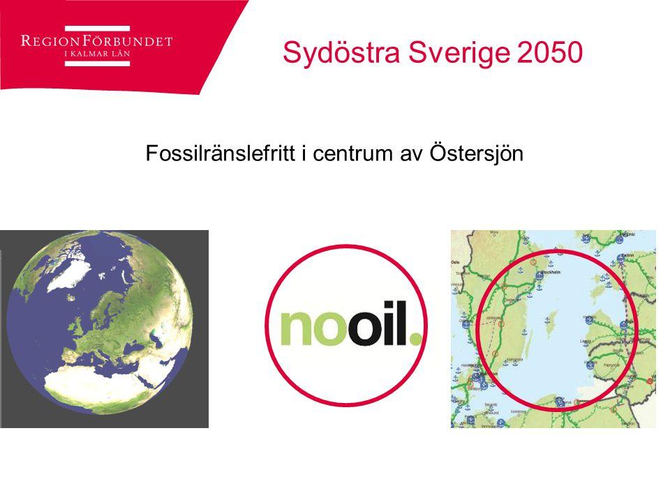 Sydöstra Sverige på väg mot 2050 TEN-T Core net Modern järnväg ansluten till Södra stambanan och Höghastighetsbanan
