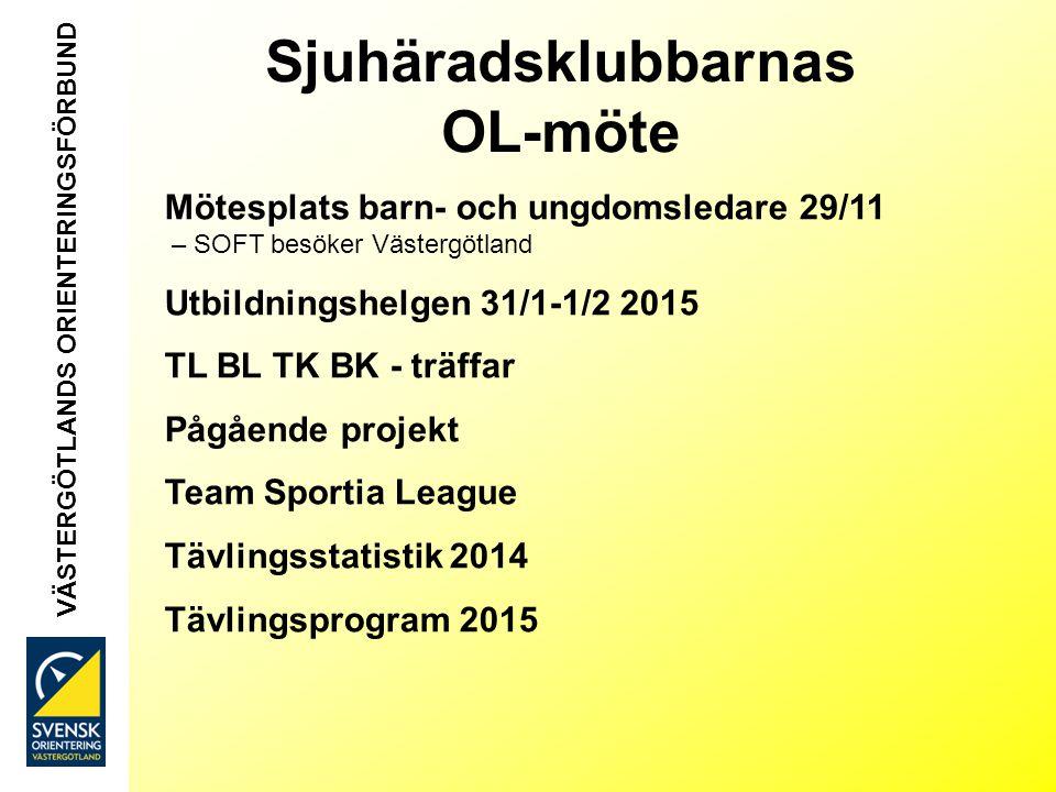 Mötesplats 29/11 för barn- och ungdomsledare - Rekrytera och behålla -Idrotten vill i vår verksamhet -O-ringen VÄSTERGÖTLANDS ORIENTERINGSFÖRBUND