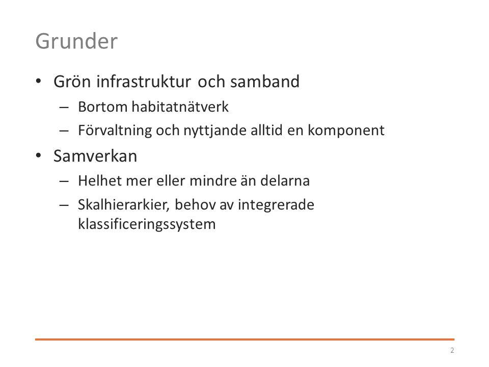 Systematisk klassificering 3