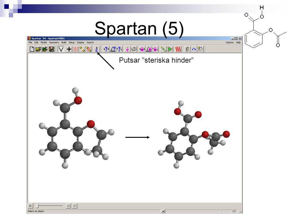 """Putsar """"steriska hinder"""" Spartan (5)"""