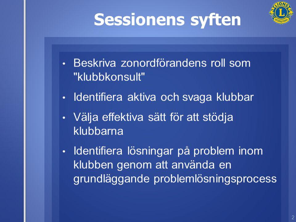 2 Sessionens syften