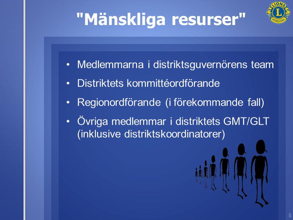 5 Mänskliga resurser