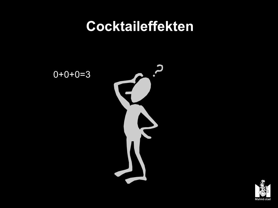 Cocktaileffekten 0+0+0=3