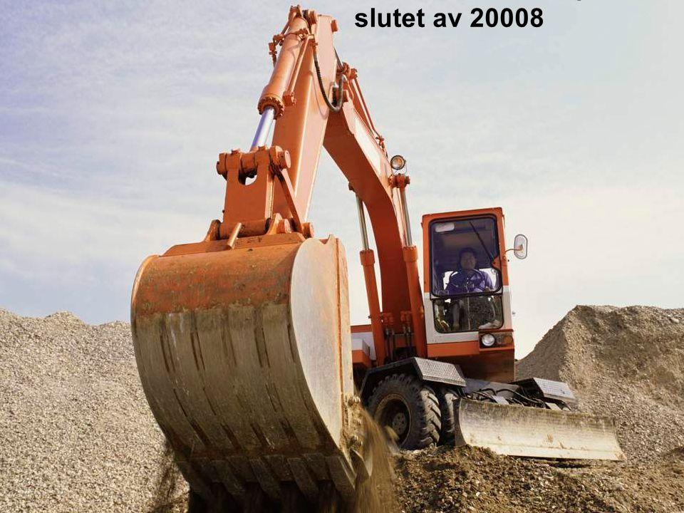 Markarbete påbörjas i slutet av 20008