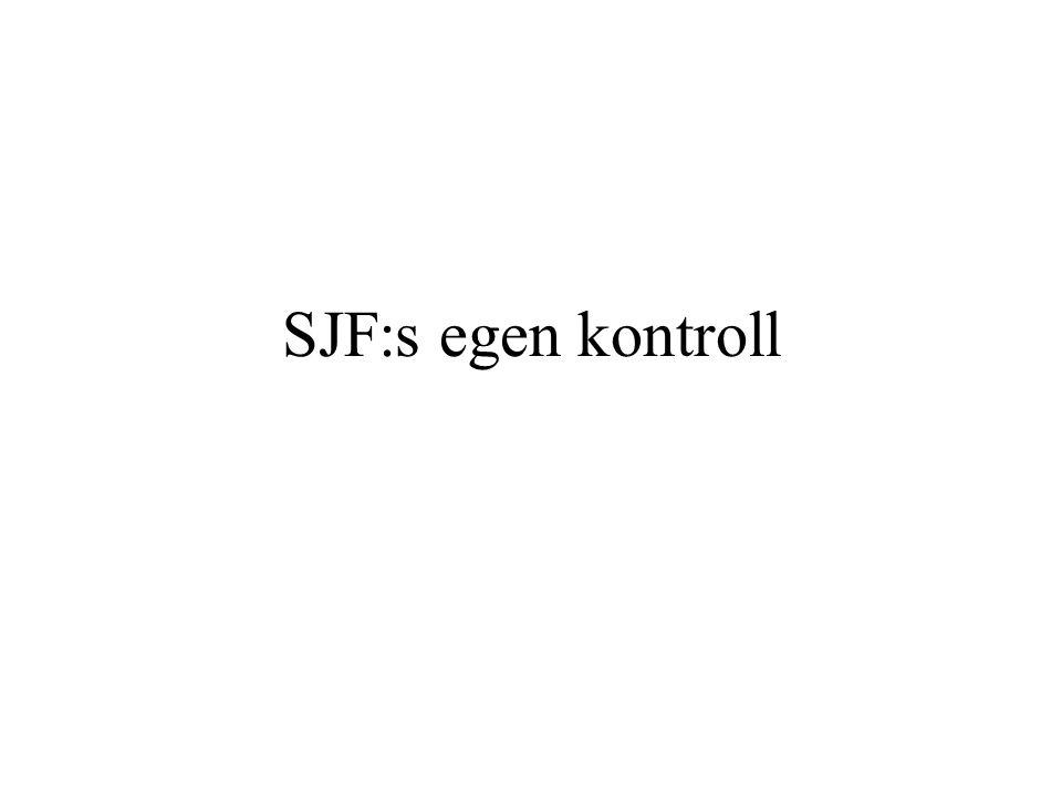 SJF:s egen kontroll