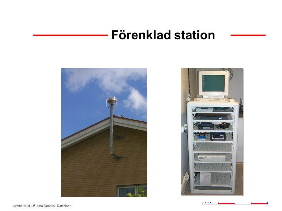 Lantmäteriet, LF-data Geodesi, Dan Norin Inifrån