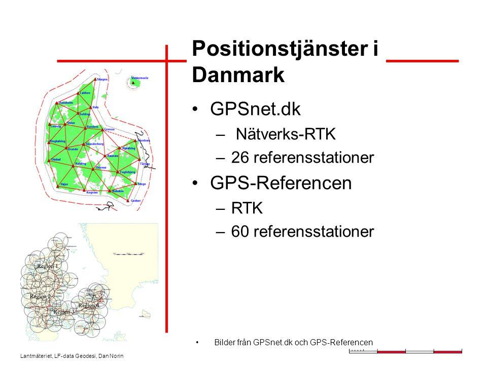 Lantmäteriet, LF-data Geodesi, Dan Norin Väst-RTK