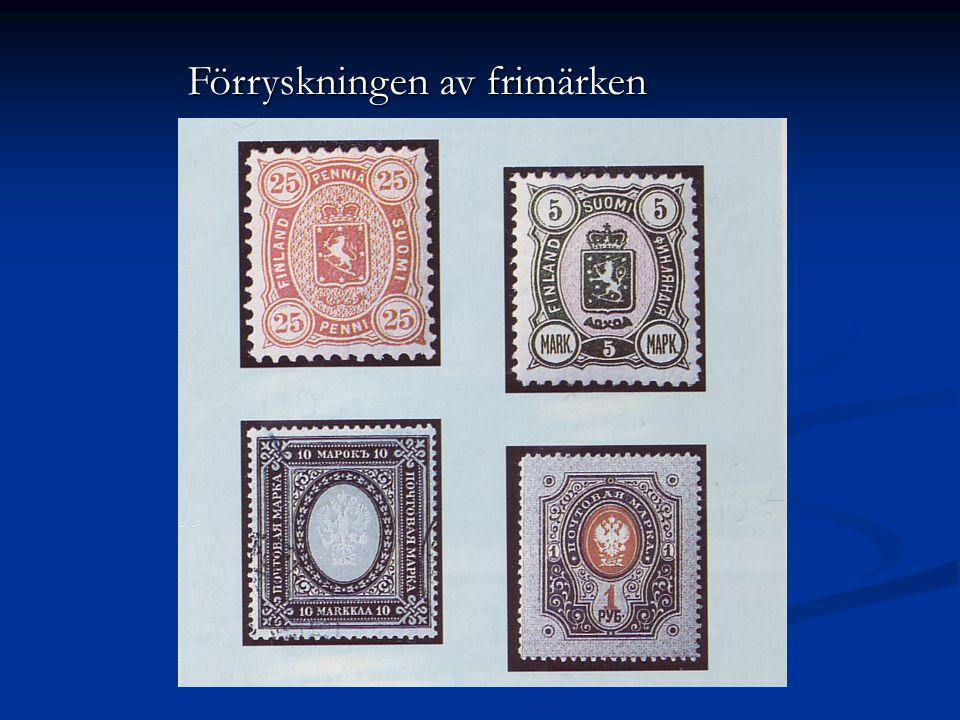 Förryskningen av frimärken