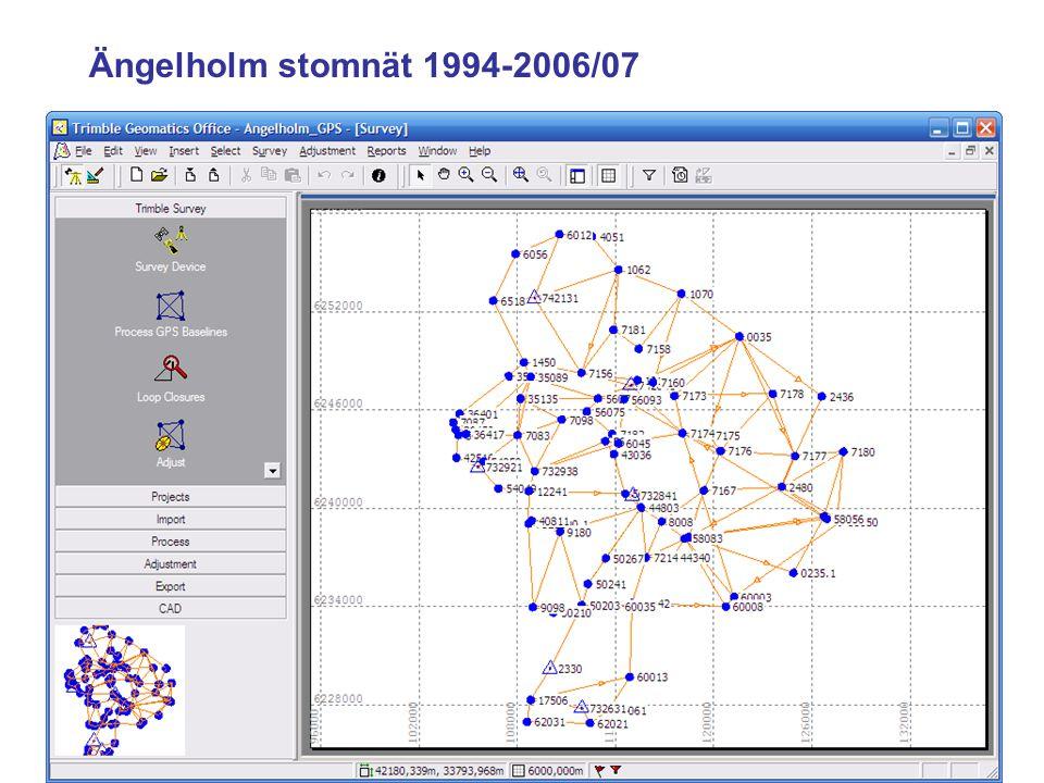 JÄMFÖRELSE RTK - STATISK MÄTNING RTK - Lättillgängligt - Mätning kan kombineras - Kontrolleras genom dubbelmätning - Ingen nätberäkning - Utdragen mätningsinsats STATISK MÄTNING - Noggrann planering behövs - Koncentrerad mätinsats - Utmärkt kontrollerbarhet - Fordrar nätutjämning - Resulterar i ett GPS-stomnät KOMMENTARER ?