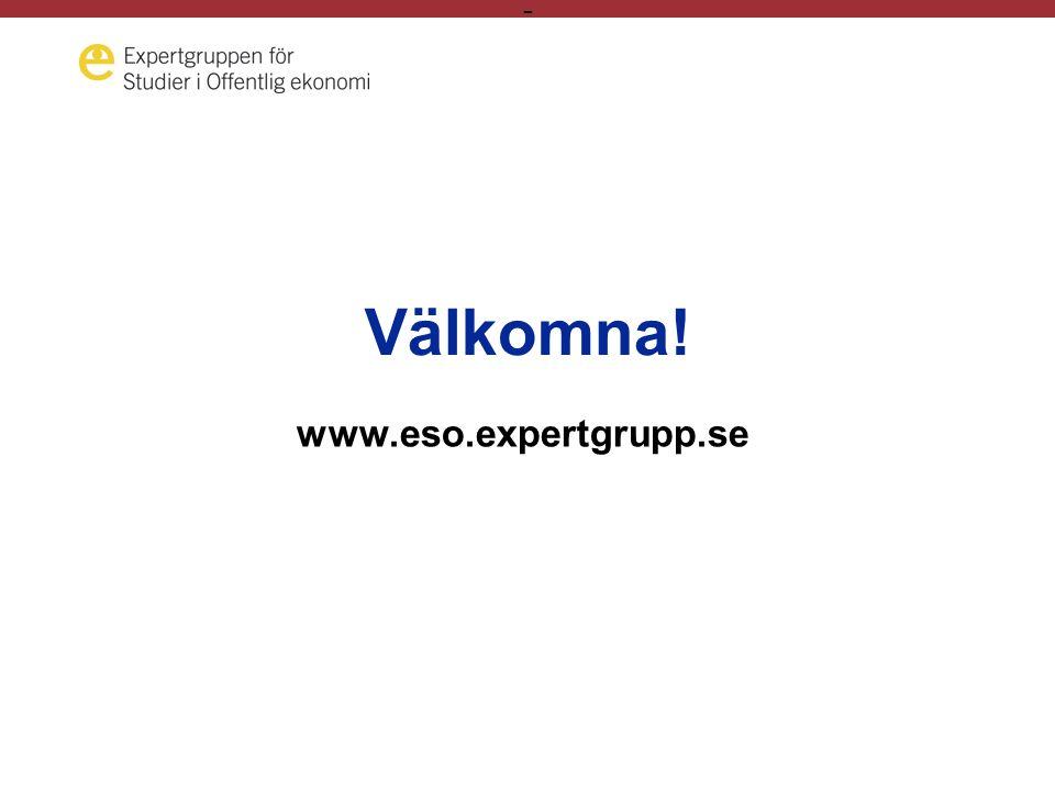 - Välkomna! www.eso.expertgrupp.se