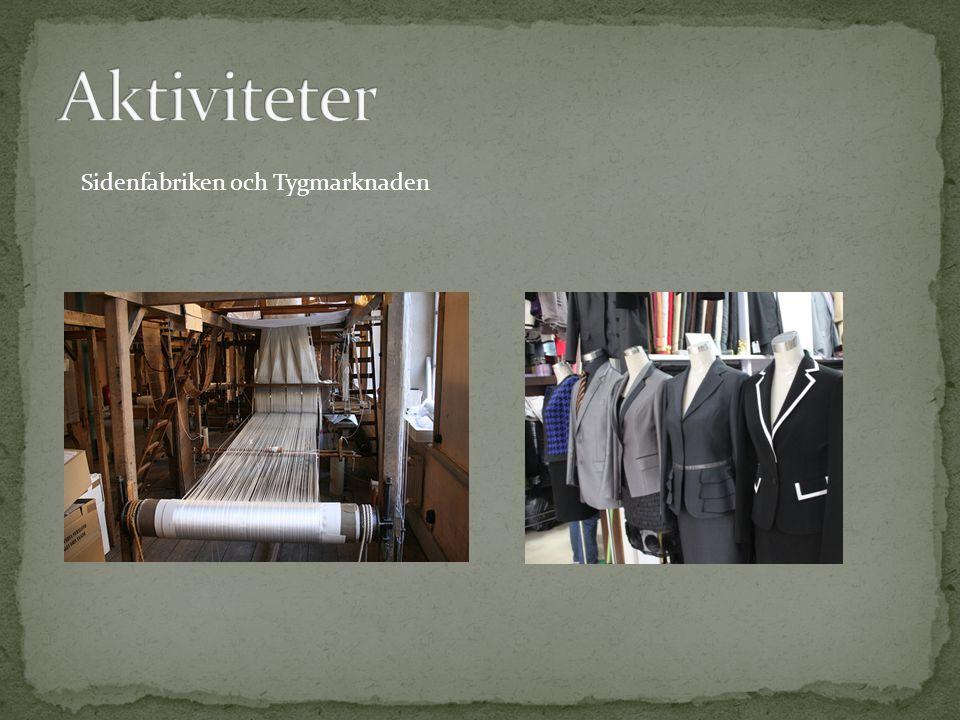 Sidenfabriken och Tygmarknaden