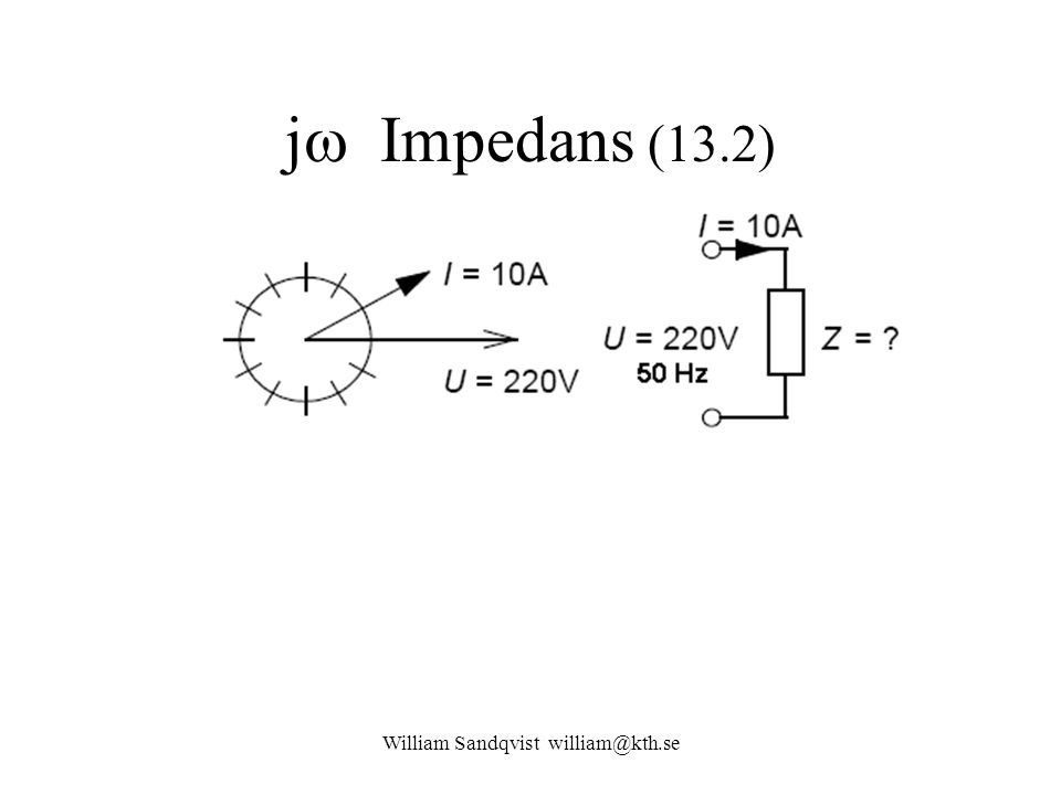 j  Impedans (13.2)