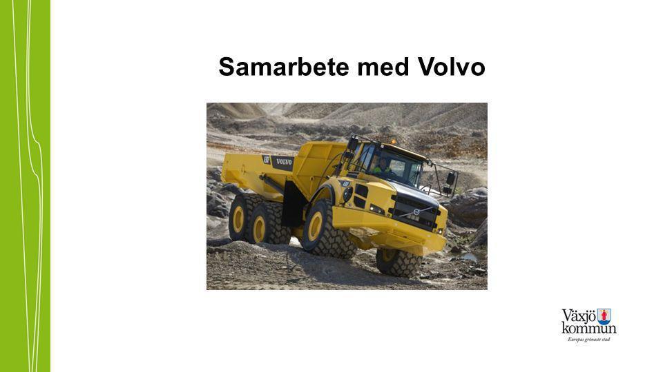 Samarbete med Volvo
