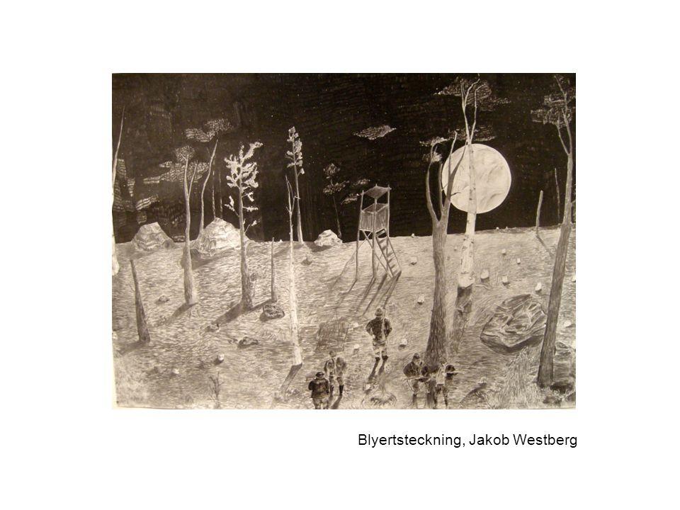 Blyertsteckning, Jakob Westberg