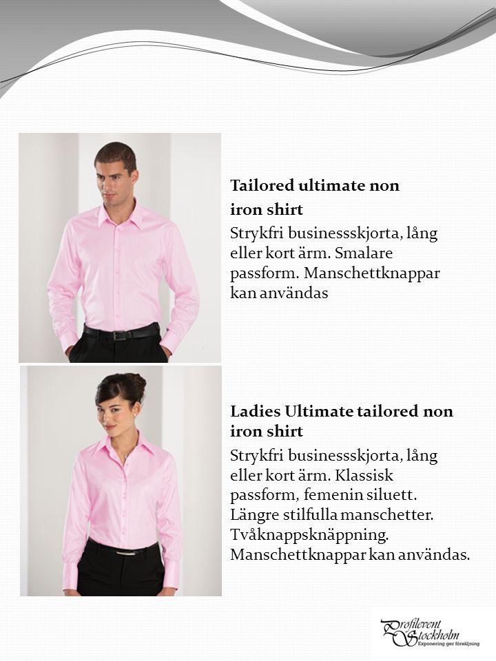 Oxford tailored fit Klassisk oxfordskjorta med smalare passform, lång och kort ärm.