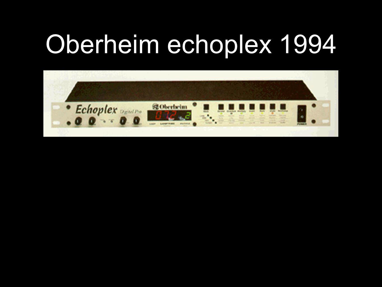 Oberheim echoplex 1994