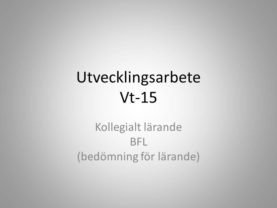 INNEHÅLLSFÖRTECKING (slide 3) SYFTE (slide 4) VAD ARBETAR VI MED VT-15.