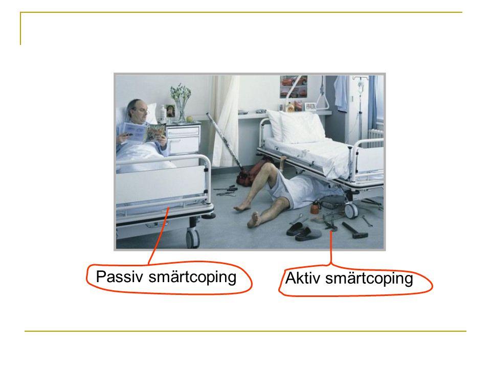 Aktiv smärtcoping Passiv smärtcoping
