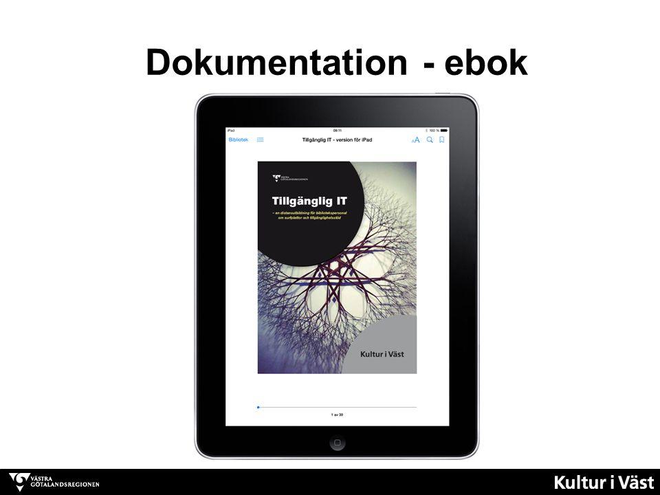 Dokumentation - ebok