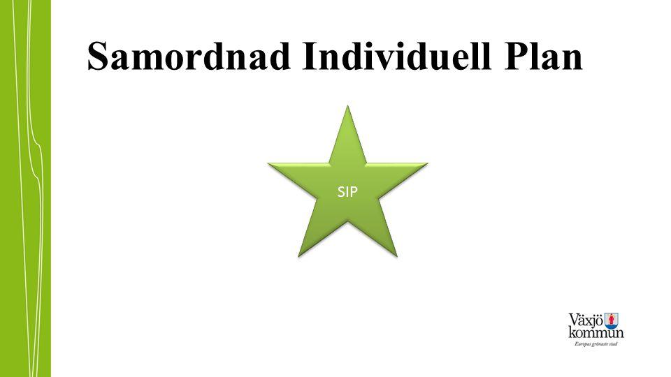 Samordnad Individuell Plan SIP