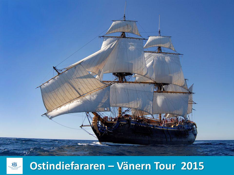Ostindiefararen – Vänern Tour 2015