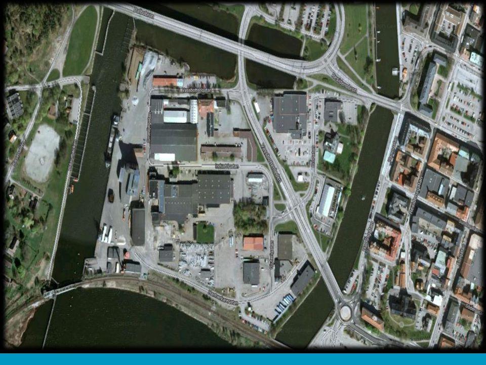Vänersborg finns vid en av Sveriges knutpunkter för transport och logistik.