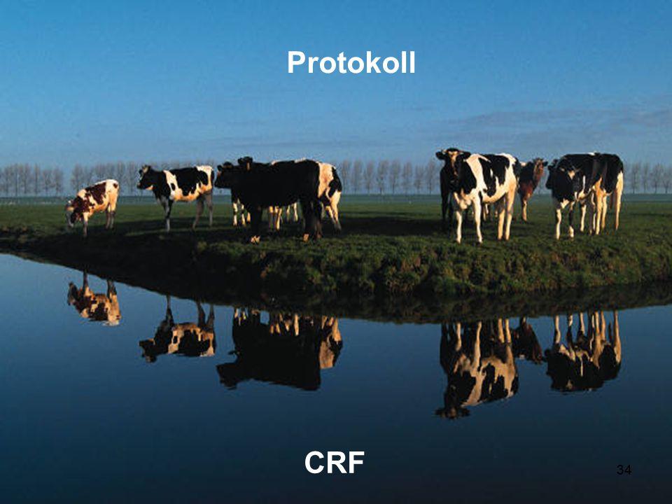GCP/ST-utbildn 2014 Kliniska randomiserade försök Protokoll CRF 34