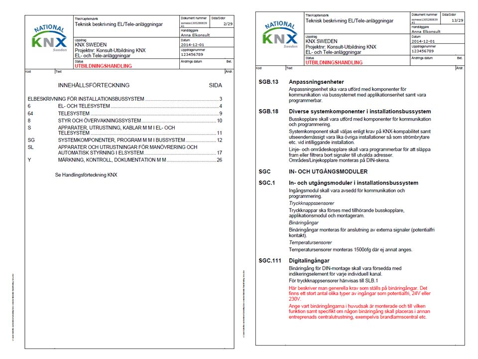 KNX Sweden Page No. 9 KNX: The worldwide STANDARD for home & building control