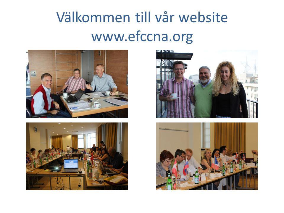 Välkommen till vår website www.efccna.org