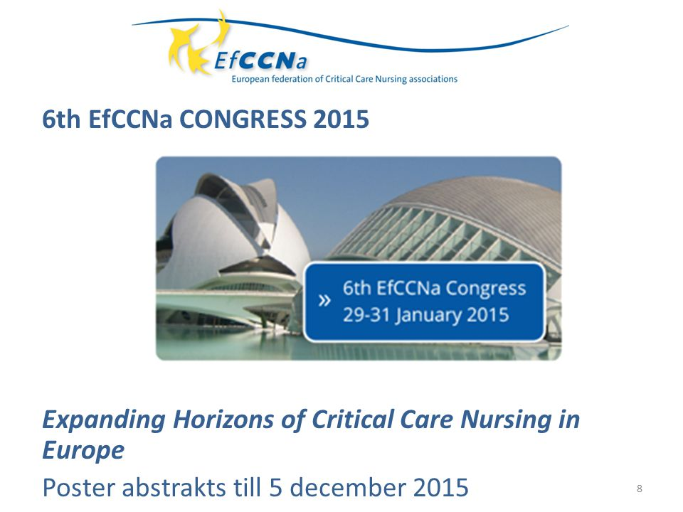 19 Springer Publishing confirmed their support to publish a web based resource on critical care nursing topics.