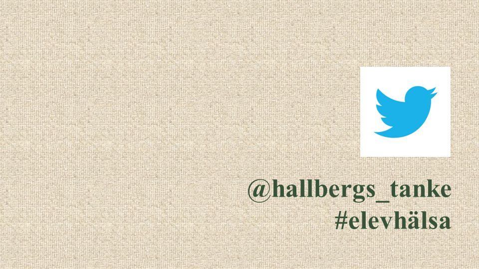 @hallbergs_tanke #elevhälsa