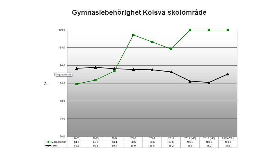 Ur pressmeddelande från Skolverket augusti 2012: /…/ Det är för många elever som lämnar grundskolan utan behörighet.