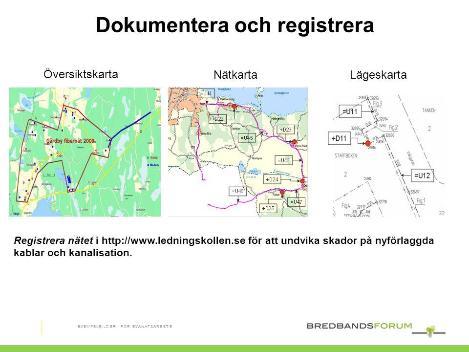 Tjänsteleverantör Telia Dokumentera och registrera Översiktskarta NätkartaLägeskarta Registrera nätet i http://www.ledningskollen.se för att undvika s