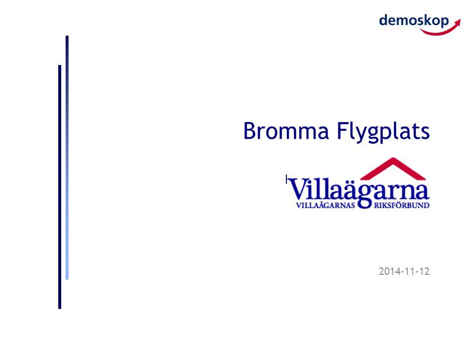 2014-11-12 Bromma Flygplats Per Hörnsten, Demoskop