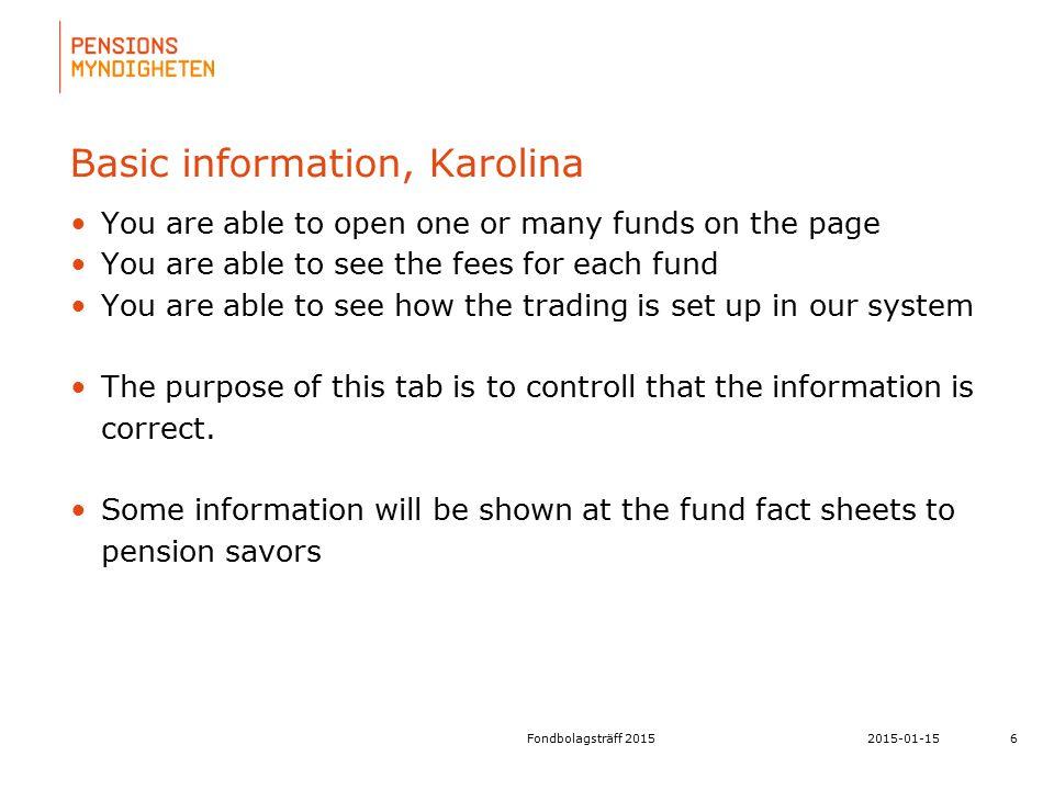 För att uppdatera sidfotstexten, gå till menyfliken: Infoga | Sidhuvud och sidfot. Basic information, Karolina You are able to open one or many funds