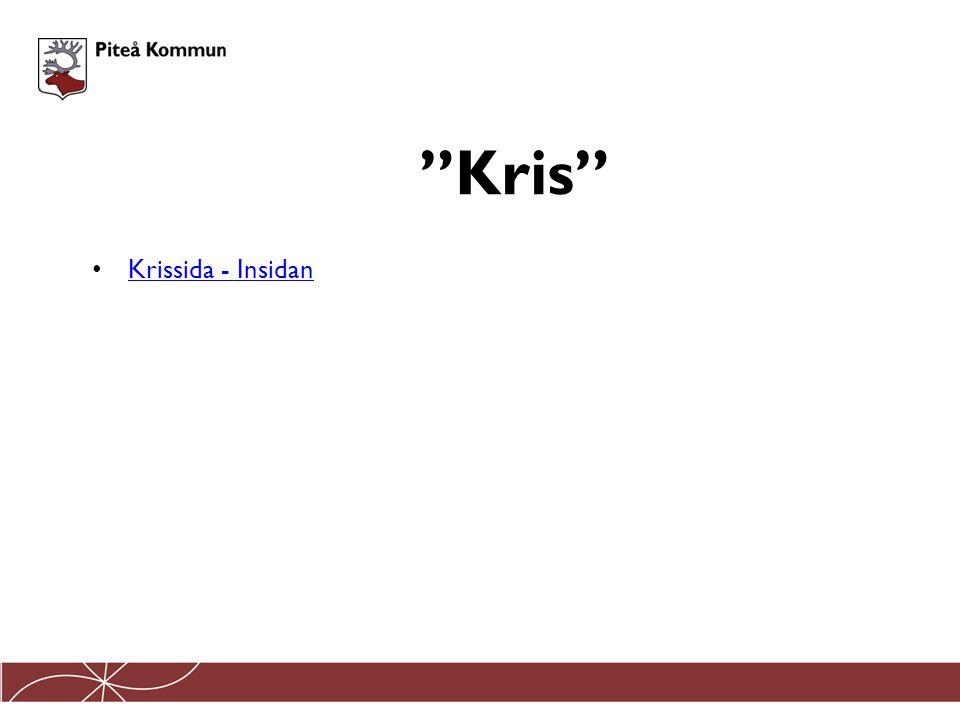 """Krissida - Insidan """"Kris"""""""