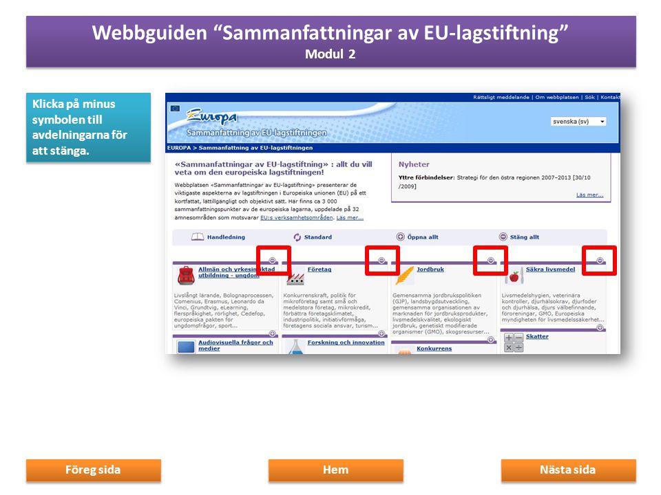 Med början på hemsidan hittar du många navigeringsnivåer, allt från allmänna till mer specifika ämnesområden.