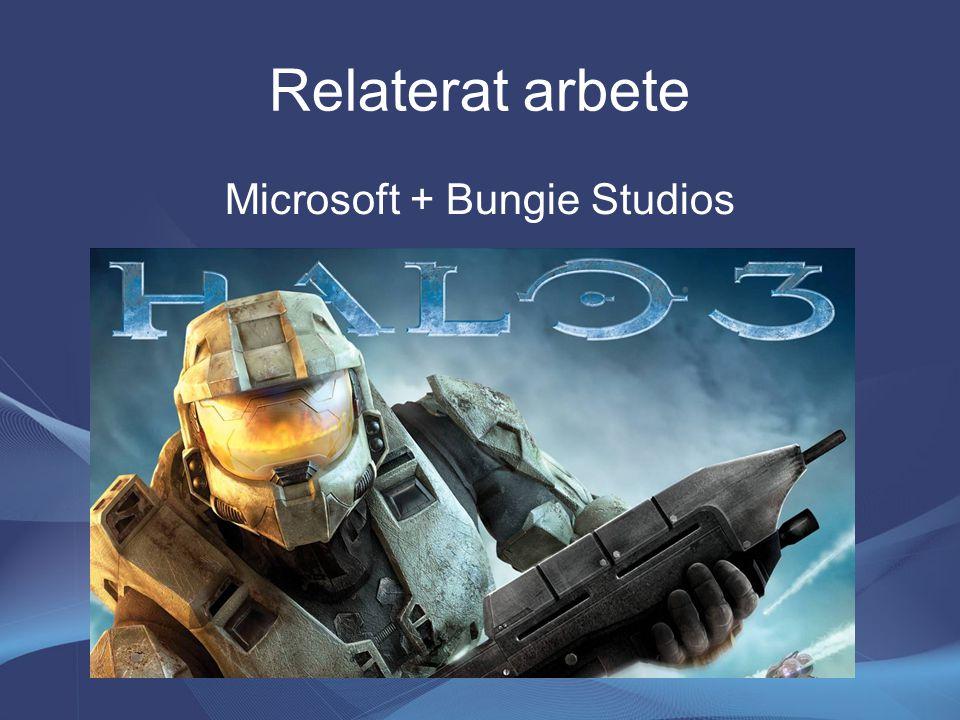 Relaterat arbete Microsoft + Bungie Studios