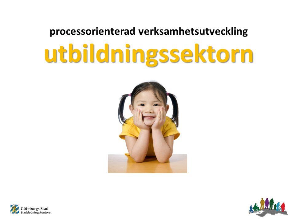 utbildningssektorn processorienterad verksamhetsutveckling