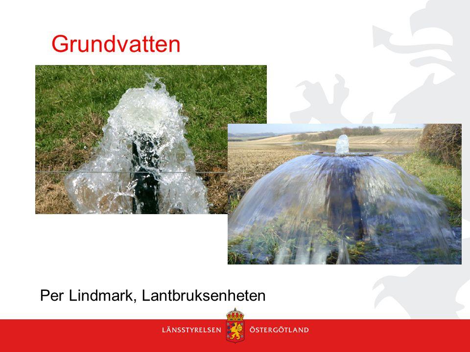 Grundvatten Per Lindmark, Lantbruksenheten