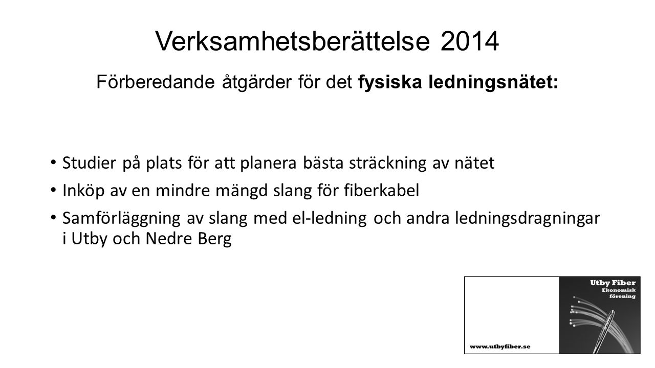 §20.Beslut om budget för 2015.