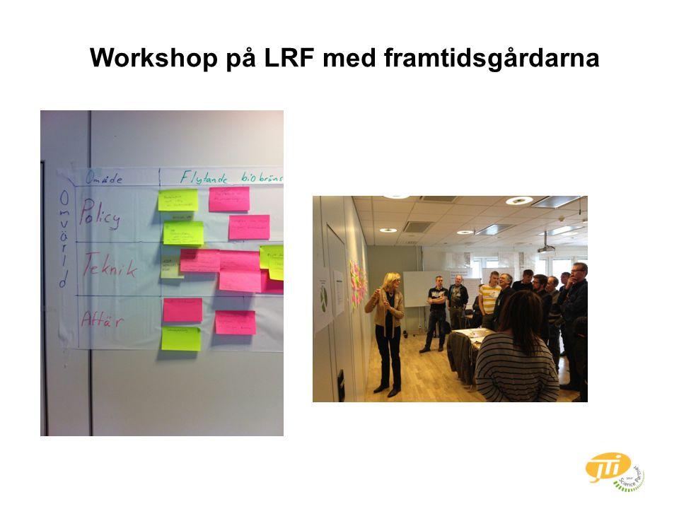 Workshop på LRF med framtidsgårdarna