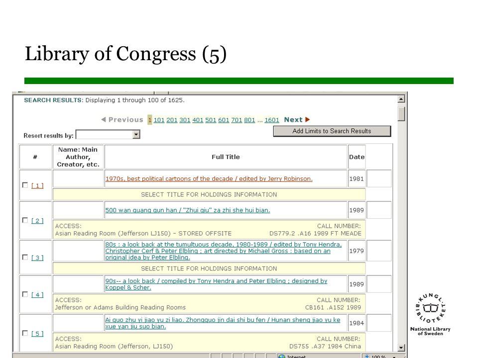 Sidnummer Library of Congress (5)