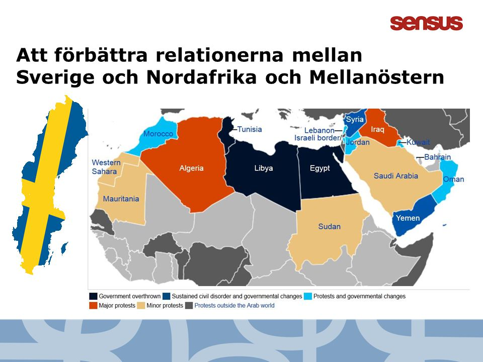 14 Att förbättra relationerna mellan Sverige och Nordafrika och Mellanöstern