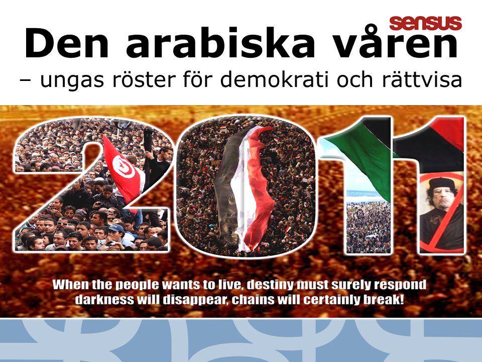 2 Den arabiska våren – ungas röster för demokrati och rättvisa