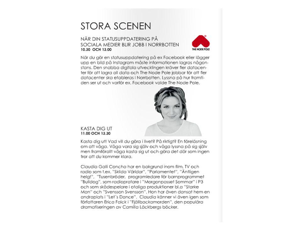 Miniseminarier i lokal Alfa 09.50 Sveriges viktigaste jobb!!.